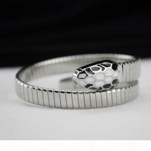 Snake Head Multi-Layer Bracelet Bangle Woman Female Animal Head Bangles Wedding Jewelry