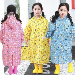q6OmQ Schulranzen Superman Kleidung Regenmantel Baby Kinder Student Regenmantel mit Brot Protective Kinder Brot TaBGL Kappe Krempe Schutz