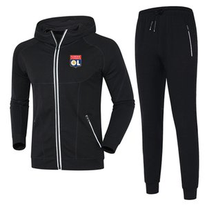LYONNAIS 2020 autumn and winter suit football training suit mid-length DIY custom men's sports running wear men's casual sportswear