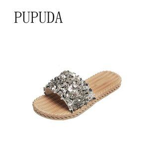 PUPUDA Women Casual Hausschuhe Sommer Outdoor-Slipper Fashion Slipper weiblich