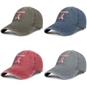 Unisex Survivor Breast Cancer Fashion Denim Baseball Cap Cool Washed Dad Hat Adjustable Vintage Ball I Kicked Cancer's Ass donkey Symbol