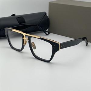 Vintage Marca Designer Óculos Mens Fashion Eye vidros transparentes Limpar Lentes Óculos Miopia prescrição óptica Armações