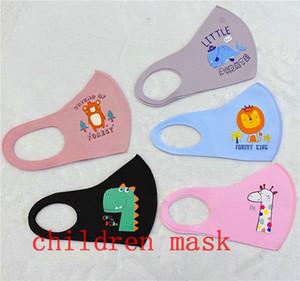 디자이너 무료 보호 마스크 소년 소녀 만화 입 얼굴 마스크 어린이 먼지 방지 통기성 Earloop 빨 재사용면 통기성 N90