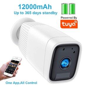1080P Battery Powered WiFi IP Camera Outdoor IP66 Waterproof Camera with Alexa Google Home Two Way Audio PIR Motion Detect