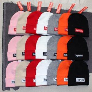 cap stussy hat o sombrero de moda sombrero de lana de esquí de invierno caliente del todo-fósforo de las mujeres de los hombres del casquillo del sombrero