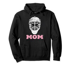 Hockey Mom Vintage Gardien de but Masque à capuche cadeau pour les femmes