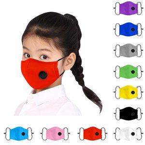 1pc del fumetto filtro in cotone Solid riutilizzabili sveglie lavabile Kawaii bambino mascherina mascherine bambini Bocca Colore Viso bambini tessuto rosa sABLi