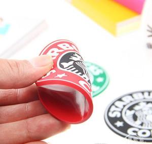 Чашка кофе Placemats Mermaid Logo Маты Круглый Coaster 8.3cm Силиконовые Кубок Starbucks Krakens Японский Starbucks колодки bdegarden GYkYW