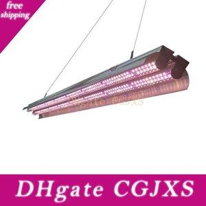 4ft 3ft 2ft T5 LED coltiva le luci Full Spectrum T5 HO ad alto rendimento doppio tubo integrato Grow Apparecchio con riflettore Combo per le piante