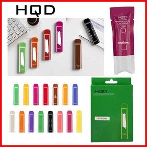 HQD original desechable Vape pluma 280mAh 300 soplos e-cig dispositivo desechable pequeña vaina Tamaño