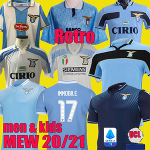2000 1998 1991 1992 Lazio Retro MANCINI 2020 2021 120e football Lazio Jersey Kit 20 21 IMMOBILES LUIS ALBERTO BASTOS chemise SERGEJ de football