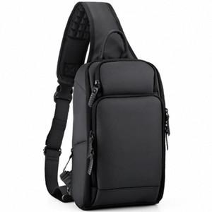 Multifunction Mens Shoulder Bag Anti Theft Crossbody Bags For Men USB Port Shoulder Messenger Bag dNEo#