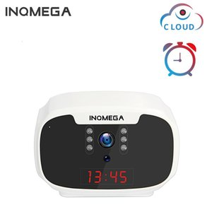 INQMEGA Clock Camera Mini 1080P WiFi Camera Wireless Home Security IP CCTV Surveillance IR Night Vision Motion Detect
