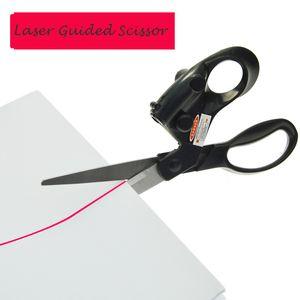 1Pc Multifunktionsführung Laser Scheren Sewing Taylor Werkzeug Hause Crafts Wrapping Schneiden technische Gewebe Gerader Laser Schere