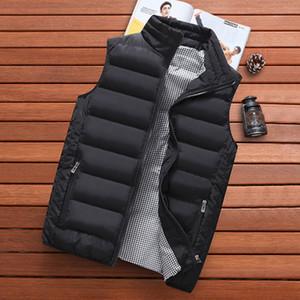 Woodvoice Marca Vest Uomo Nuovo 2020 maniche caldo Giacca autunno inverno maschio Gilet Vest Men Casual Cappotti Mens Veste Homme