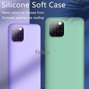 Liquid Silicone Rubber Case Macaron Colors High Quality Cheap for Iphone Phone Case Free Shipping by DHL Wholesale