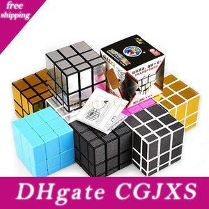 Mirror Magic Кубики 3x3x3 Professional Магия Cast Puzzle Coated Speed Cube игрушки Twist Puzzle Креативные подарки для детей