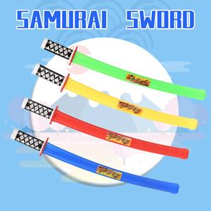 ألعاب طفل سلاح لعبة يابانية نموذج سيف الساموراي متعدد الألوان اختياري هدية 2020 حار بيع الطفل