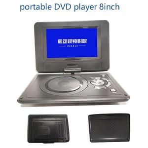 Región GRATIS 9 pulgadas / 8 pulgadas / 12 pulgadas reproductor de DVD portátil compatible con USB / TV / SD / TF / MMC / juego PDVD con 270 grados TFT LCD giratoria