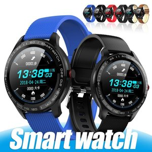 L9 Smart Watch Health Fitness Tracker Heart Rate Blood Pressure Oxygen Intelligent Monitor Ip68 Waterproof Smart Watches With Retail Box