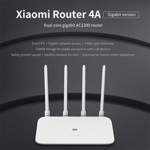 Xiaomiyoupin 4A Router Gigabit Edition 2.4GHz +5GHz WiFi DDR3 High Gain 4 Antenna APP Control Mi Router 4A WiFi Repeat Xiaomi Router