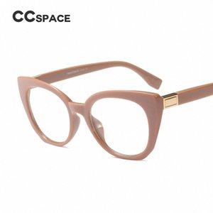 45569 ojo de gato CCSPACE marcos de los vidrios de las mujeres de la vendimia Marca óptica gafas de moda gafas Computer Glasses GJ7R #