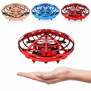 Ручное управлением дронами для детей или взрослых Скут Летучего Болл вертолетной Мини Drone Специальных подарков 0N4N #