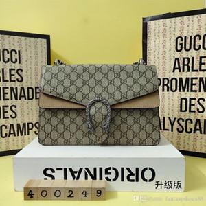 Venda de Natal 2020 Lady Oblique Satchel Verão Handbag Printing Bacchus Pacote Único Moda feminina Shoulder pacote pequeno pacote Praça