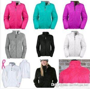 Yeni Kış NF Bayan Polar Osito Ceketler Moda Yumuşak Polar Sıcak İnce Coats Açık Bayanlar Marka Erkek Çocuk bombardıman Ceket Down Kadınlar Coat