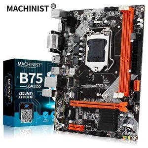 MACHINIST B75 LGA1155 motherboard desktop para Intel i3 suporte CPU memória DDR3 M.2 USB3.0 SATA3.0 mainboard
