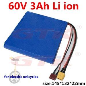 GTK 60v pacco batterie agli ioni di litio per 3Ah18650 I130 T260 T130 T350 monociclo elettrico equilibrio motorino di skateboard