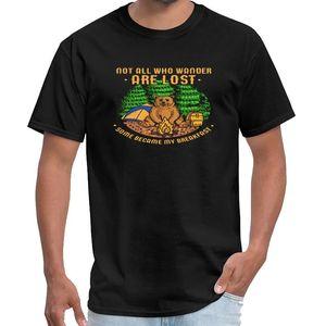 Impresso Urso, Wander, presente, ideia presente, urso, Tenda camiseta Camping homme de marque de luxe camiseta saucezhan mulheres mais tamanhos s-5x