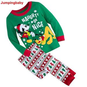 2020 ragazze Pijama Infantil Gecelik Roupas Koszula fumetto Nocna camicia da notte di Natale Ragazzi Pigiama Pigiama per bambini Pajama Set Car PJS