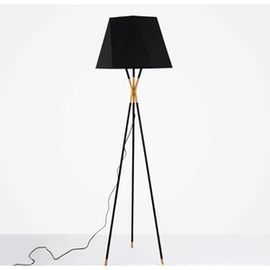 Modern Fabric Tripod Living Room Bedroom Floor lamp Standing lamp  table lamp Incandescent Bulbs, Energy saving