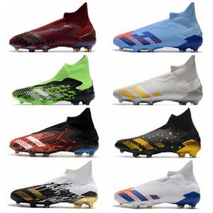 Predator Mutator 20+ 2020 New Mens Soccer Tacchetti tacchi alti Top Messi FG Scarpe da calcio Professional Boots Boots Chaussures