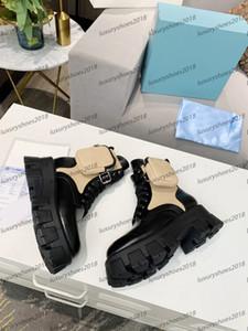 Mujeres Milano motocicleta botas de señoras de cuero extraíble KeyCase Rois Botas Unique New inferior grueso Caballero Martín de arranque Zapatos Casual las zapatillas de deporte