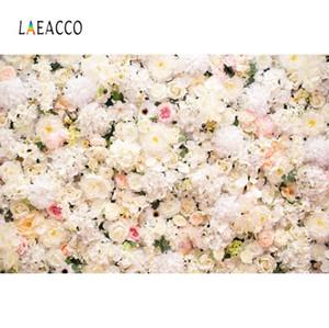 Fotografia Retrato Laeacco Foto Backdrops casamento Spring Blossom Flower Party Recados da Criança Fundos Photocall Photo Studio