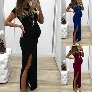 2020 Summer Long Schwangere Mutter Kleid Mutterschaft Fotografie Props Frauen Schwangerschaft Kleidung Kleid tägliche Eleganz Kleidung