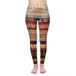 KUcYx B3su0 Zohra serie Tight culturales egipcia impresión digital pictográficos culturales leotardos mujer Zohra polainas de los pantalones mágico mágico de la serie