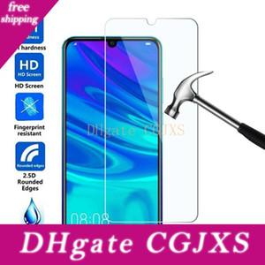 500pcs Cep Telefonu temperli cam İçin Huawei 8 8e 9 9s 10 10s 7 Artı Ekran Koruyucu DHL Ücretsiz 7c 7'ler Enjoy