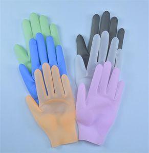 Многоразовые силиконовые перчатки Очистительные работы Водонепроницаемый перчатки маслостойкой Высокотемпературные перчатки Здоровье Безопасность Защитные