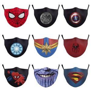 핫 캡틴 아메리카는 현실적인 슈퍼 히어로 할로윈 마스크가 성인 남성 DC 영화 코스프레 의상 소품 완구 가장 무도회 마스크 마스크