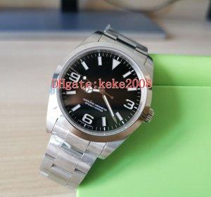 Top BP fabbrica V3 polso Explorer 214270-77200 214720 39mm in acciaio inossidabile 316L 2813 movimento meccanico automatico Men Watch Watches