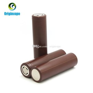 100 %Authentic 18650 Battery Hg2 3000mah 35a Max Lithium Rechargeable Batteries Using Lg Battery Cell For Vw Box Mod Fedex Free Shipping