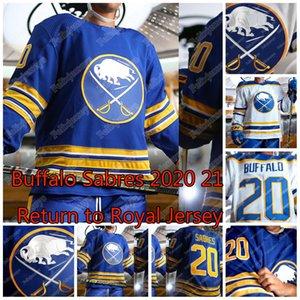 Buffalo Sabres 2020 21 Zurück zur Royal Jersey Jack Eichel Rasmus Dahlin Rasmus Ristolainen Jeff Skinner Kyle Okposo Montour Colin Miller