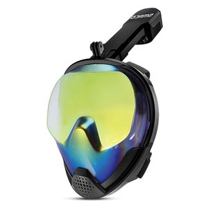 2019 New High Quality Full Snorkeling Underwater Scuba Diving Equipment Anti-fog Mask Motion Sports For Gopro Camera M8028
