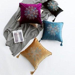 Travesseiro novo Chegada almofadas de cobertura caso almofada travesseiros de luxo almofada de alta precisão perfuração almofada do sofá Hotel cama hotel europeu