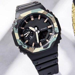 2100 Royal Oak Relojes Dropship con la caja para hombre reloj del deporte del G Estilo buen regalo para el hombre impermeable del choque del LED al aire libre al por mayor relojes digitales