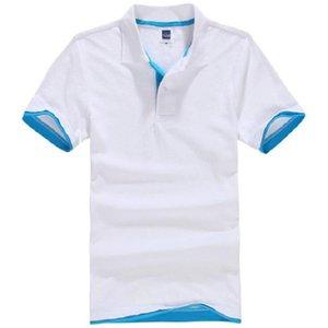 Polos pour hommes D't En Coton Polos Manches Courtes Marques maillots Chemises Courtes Hommes camisa masculina Haut
