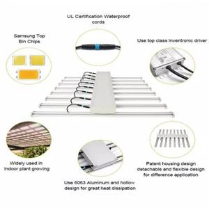 2020 Top-LED wachsen Licht Bar Fixture 640W Full Spectrum LED-Licht Samsung LM2835 100cm Gewächshäuser hydroponischen Medica 8bar Pflanze Rohr Grow